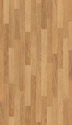 Enhanced oak natural varnished, 3 strip Laminate - CL998